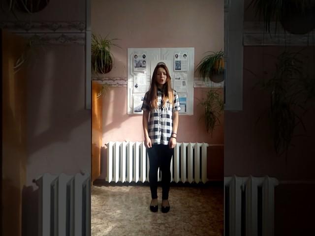 Изображение предпросмотра прочтения – ВалерияКочегарова читает произведение «Послушайте! (Послушайте! Ведь, если звезды зажигают…)» В.В.Маяковского