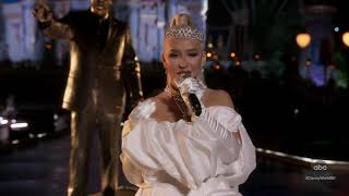 Christina Aguilera - When You Wish Upon A Star & Reflection at Disney World 50th Celebration | HD