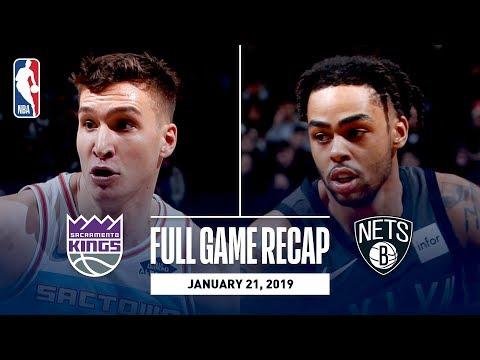 Full Game Recap: Kings vs Nets | D'Angelo Russell Leads All Scorers With 31 Points