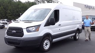 2015 Ford Transit Review, Walkaround, Specs
