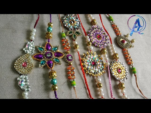 how to make Beautiful Rakhi at home | how to make rakhi with paper