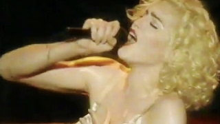 MTV - Madonna at No. 20 with Like A Virgin Live Blond Ambition Tour - 1990 - Film Footage