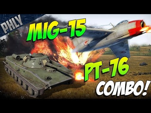 PT-76 AMPHIBIOUS TANK (soon™) War Thunder Tanks Gameplay!