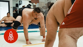 A Gentle Giant: Becoming the Great American Sumo