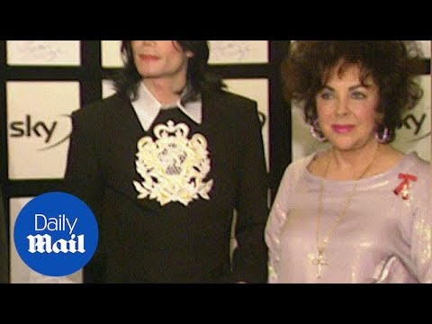 Michael Jackson & Elizabeth Taylor Together In London In 2000 - Daily Mail