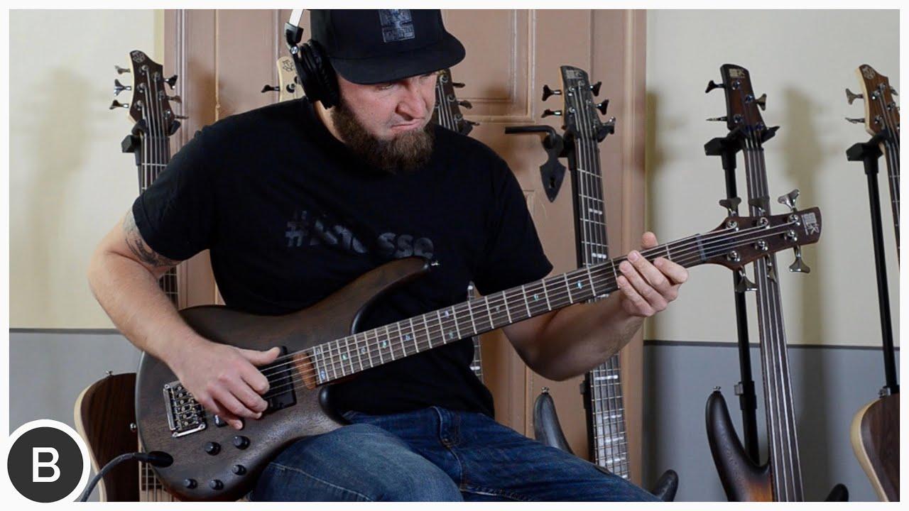 ibanez src6 bass guitar basstheworld youtube