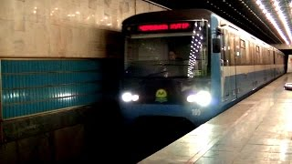 На зелёной ветке метро