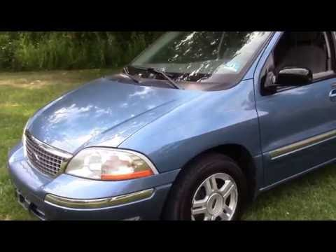 2003 ford windstar se blue for sale youtube 2003 ford windstar se blue for sale