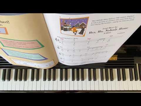 """-hey-ho-nobody-home""-piano-adventure-lesson-book-level-2b"