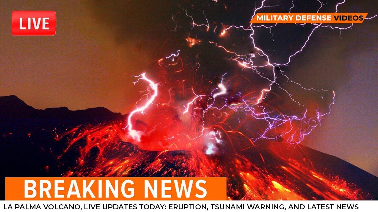 Download La Palma volcano, live updates today: eruption, tsunami warning, and latest news