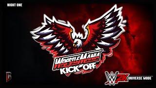 WWE 2K - Universe Mode - WrestleMania: Atlanta - Night 1 - Kick-Off (241)