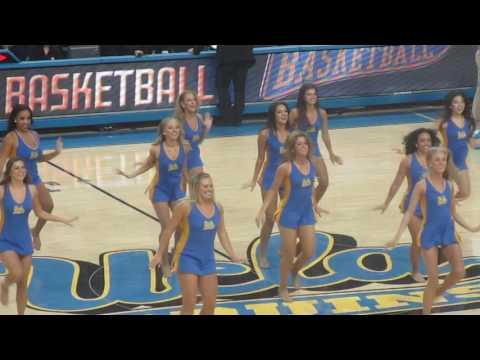 UCLA Dance Team Performance - Long Beach State 11/20/2016