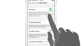 iPhone iPad Anleitung: iMessage SMS WhatsApp-Alternative Geld sparen