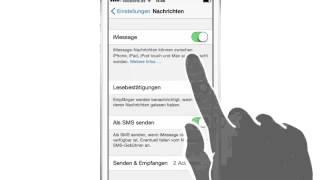 iPhone iPad Anleitung: iMessage SMS WhatsApp-Alternative Geld sparen
