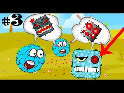 Red ball 4 Volume 3 BLUE Bilberry Complete game walkthrough with BOSSES killed