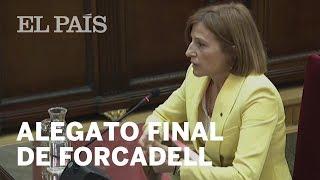 ALEGATO FINAL DE CARME FORCADELL: