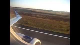 Decolagem Aeroporto de Goiânia - Embraer 190 TRIP Linha Aéreas - GYN - SBGO - Santa Genoveva
