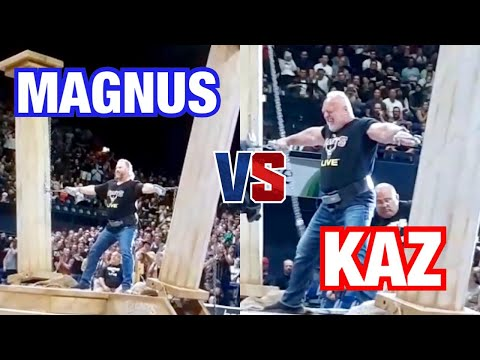 MAGNUS VER MAGNUSSON vs BILL KAZMAIER - HERCULES HOLD @ 2019 GIANTS LIVE in LONDON, ENGLAND