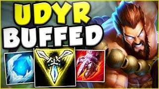 WOW RITO! WHY WOULD YOU BUFF UDYR THIS MUCH?? NEW BUFFED UDYR TOP GAMEPLAY! - League of Legends