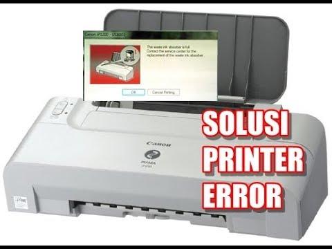 Cara Memperbaiki Printer Canon Tidak Bisa Ngeprint Youtube