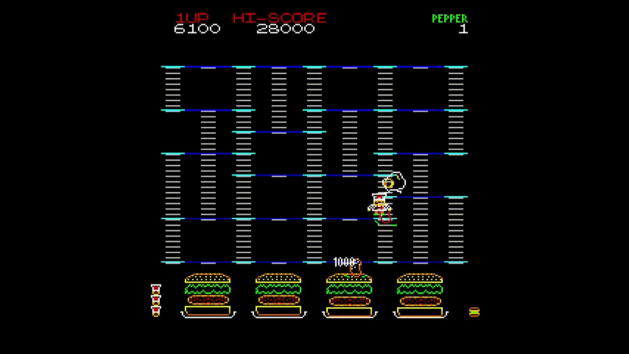 MiSTer (FPGA) Burger Time (Vector) Arcade core