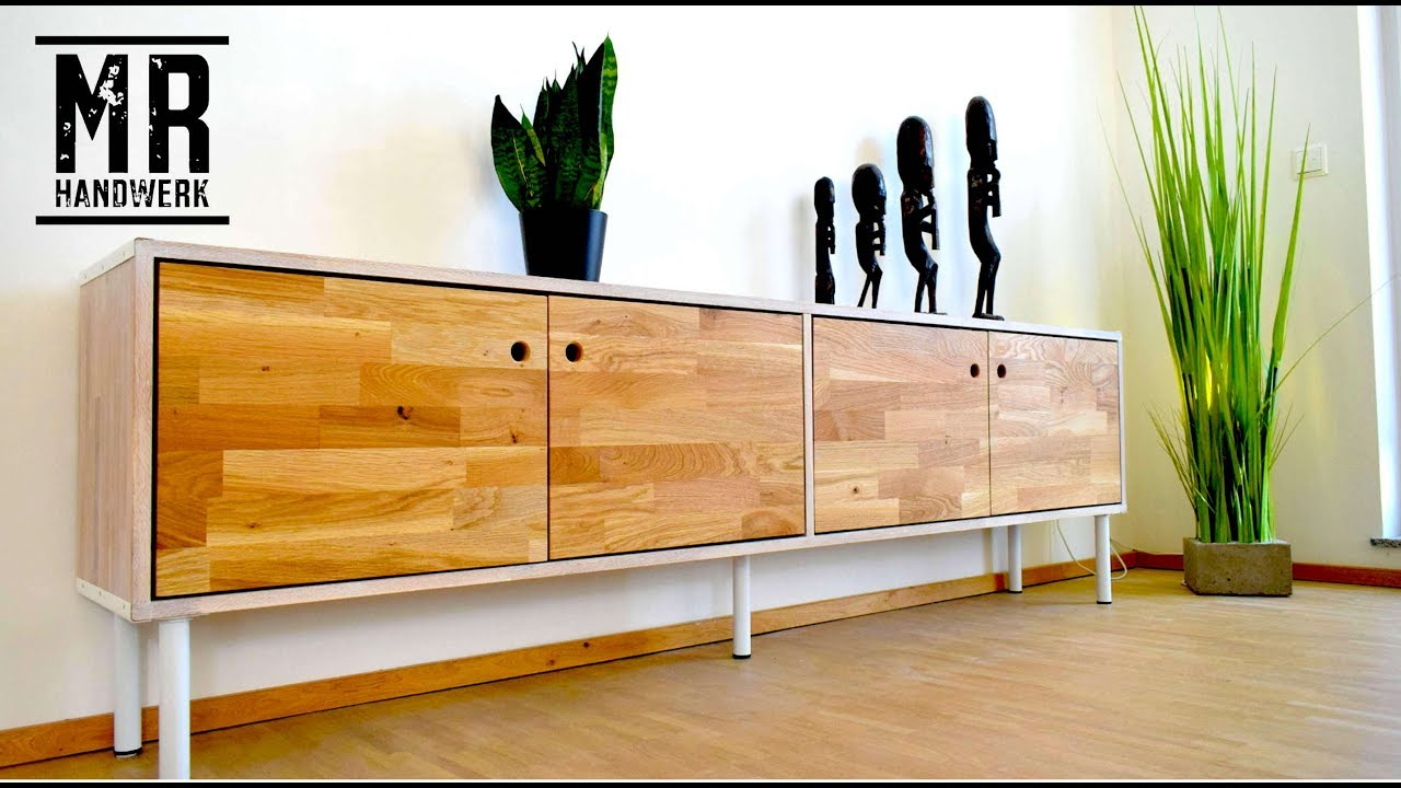 diy sideboard ohne viel werkzeug selber bauen wie geht das youtube. Black Bedroom Furniture Sets. Home Design Ideas