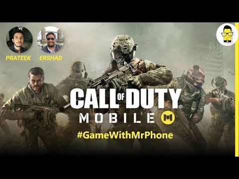 #GameWithMrPhone CoD Mobile on OnePlus 7T Pro & Samsung Note 10+