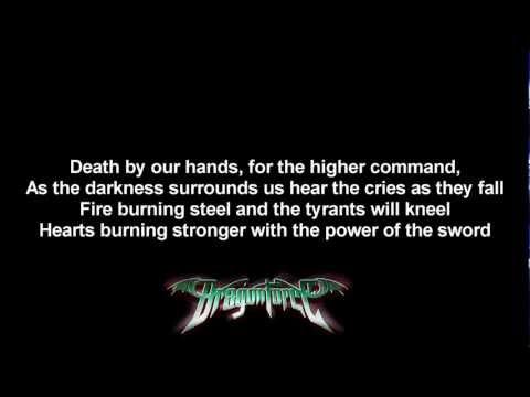 DragonForce - Cry Thunder | Lyrics on screen | HD
