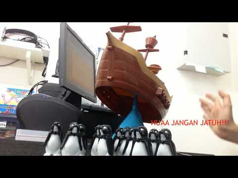 BALANCING PIRATE BOAT by ABS Toys Puchong