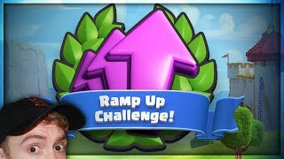 Ramp Up Challengeeeeeeeeee | 9 Wins First Try! | Clash Royale