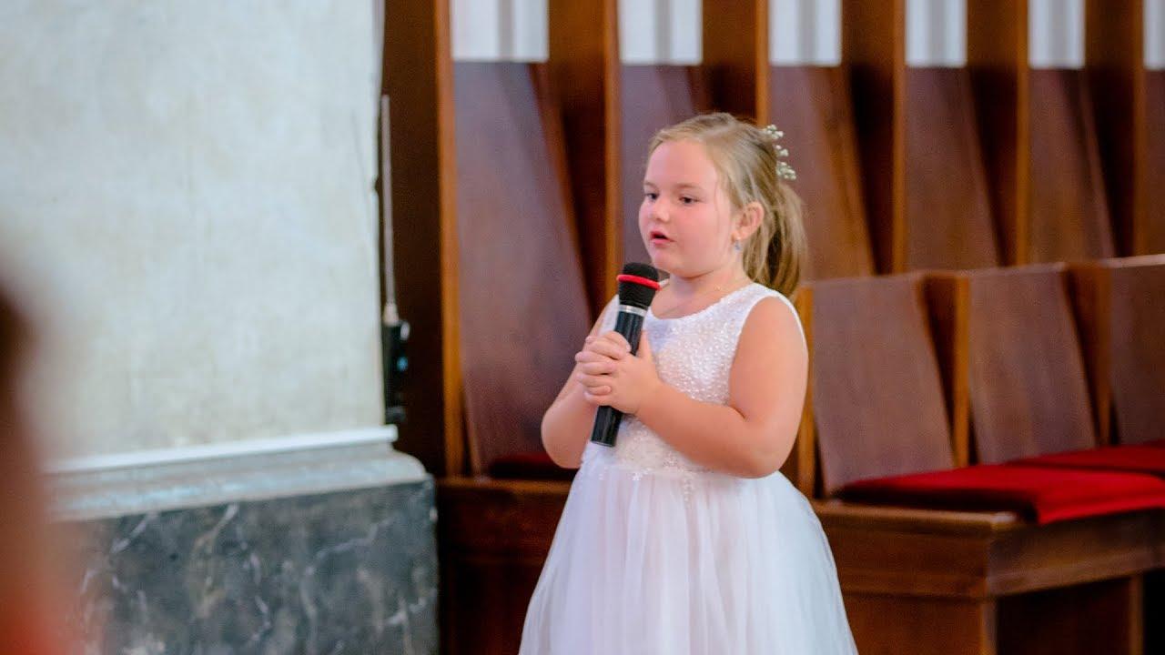 Hallelujah Cover W Wykonaniu Zosi Na ślubie Eweliny I Damiana Youtube