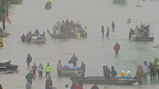 Rescue Efforts Continue Around The Clock In Houston thumbnail
