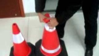 EVA traffic cone show