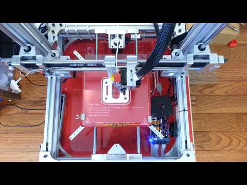 DIY all aluminum 3D Printer