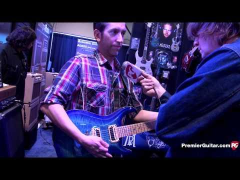 NAMM '15 - Kiesel Guitars Neil Zaza Signature California Carved Top & Vader V8 Demos