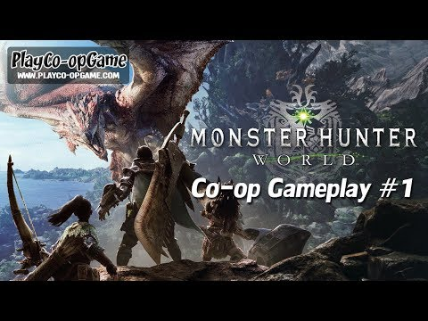 MONSTER HUNTER: WORLD | Co-op & Multiplayer Local LAN Online Games
