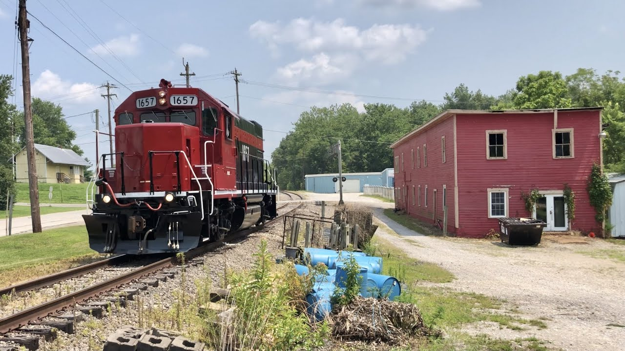 Train Start Up, Testing & First Run For New Locomotive, Ohio Short Line Railroad Action, Lucky Catch