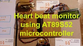 heart beat monitoring system using microcontroller