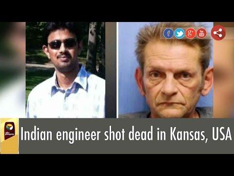 Indian engineer shot dead in Kansas, USA