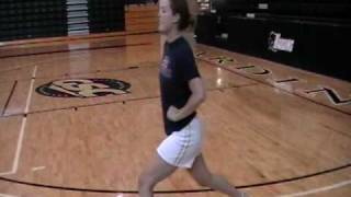 Harding Volleyball Off Season Plyo/Agility Drills Part 1