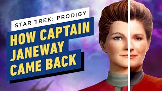 How Captain Janeway Came Back For A New Star Trek With Prodigy