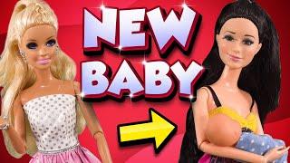 Barbie - Raquelle's New Baby | Ep.234