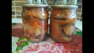 Салат на зиму  Десятка Очень вкусный и быстрый рецепт