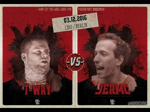 T-Way Vs JerMc // DLTLLY RapBattle (Dissember // Berlin) // 2016