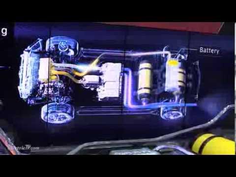 Toyotas 2015 Hydrogen Fuel Cell Car  CES 2014  ElectricTVcom