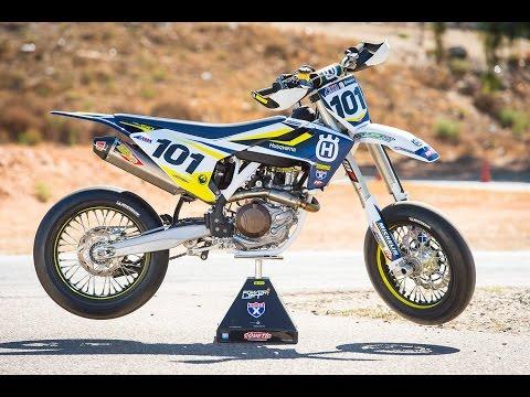 Racer X Films: 2016 Husqvarna FS 450 (Supermoto)