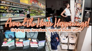 Around The House Happenings!  Organizing, What's For Lunch, Tidying Up The Mess Grocery Haul & More!