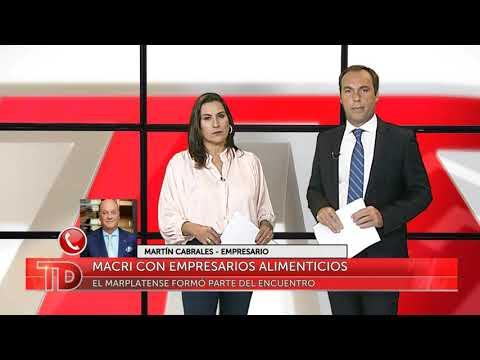 Macri con empresarios alimenticios: Nota con Martín Cabrales