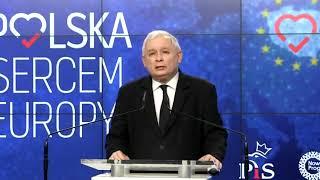Wystąpienie prezesa PiS Jarosława Kaczyńskiego | OnetNews