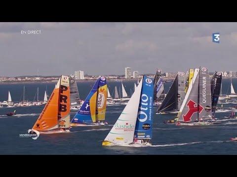 Vendée Globe 2016 : voir ou revoir le grand départ à 13h02